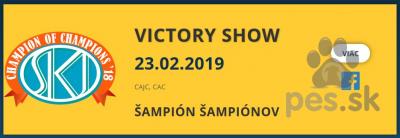 VICTORY SHOW, Šampión šampiónov - CAC Bratislava