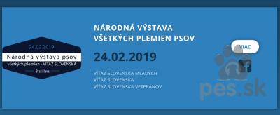Národná výstava všetkých plemien psov, Bratislava
