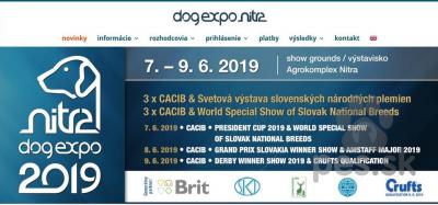 Medzinárodná výstava psov - CACIB FCI Nitra