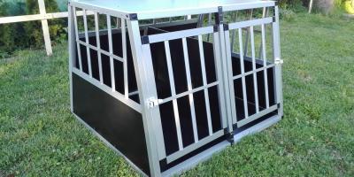 ,Hliníkové prepravné boxy pre psov