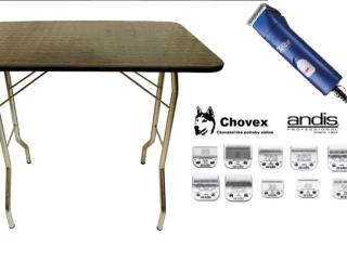 ,Trimovacie stoly , strojčeky a  hlavice