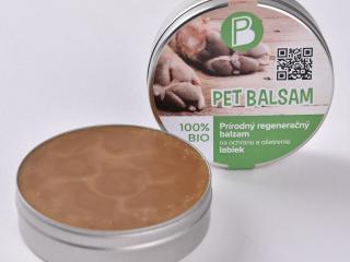 ,Pet Balsam - 100% prírodný regeneračný balzam na tlapky pre psov s dvojitým účinkom od slovenskej firmy Petbelle