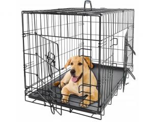 ,Klietka pre psov / Prepravka - L
