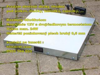 ,Digitalna ohrevna doska -  vyhrevna podlozka  12V.