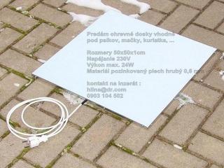 ,Vyhrievacia podlozka vyhrevna doska pre psa 50cm-230V