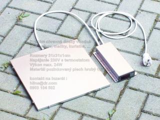 ,Vyhrievacia podlozka vyhrevna doska pre psa 31cm 230V s termostatom