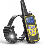 ,Elektrický výcvikový obojok pre psa s dosahom 800m-PatPet 776